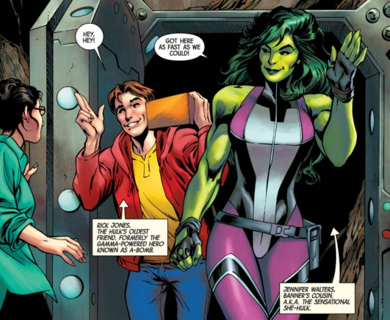 Totally Awesome Hulk Alan Davis Rick Jones She Hulk