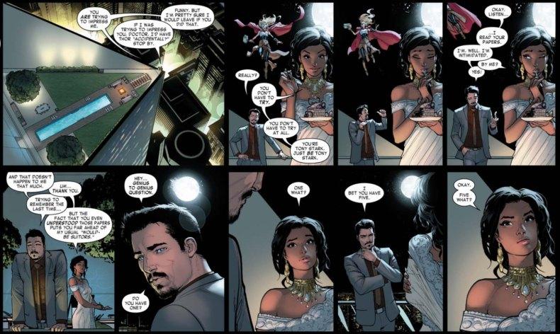 Iron Man Bendis Marquez Thor