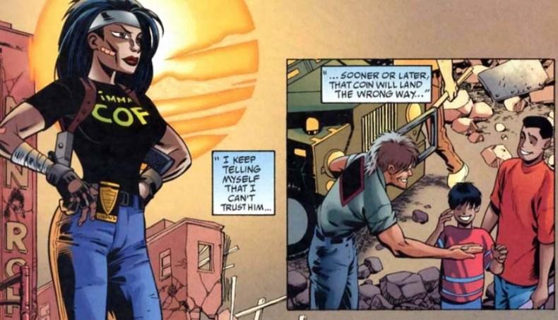 Batman Chronicles 16 Montoya Two Face Dos Caras Harvey Dent