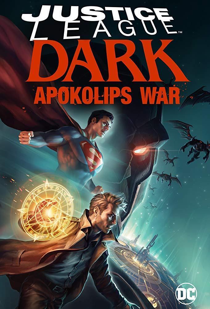 Justice League Dark Apokolips War poster - Cronología del Universo DC de animación