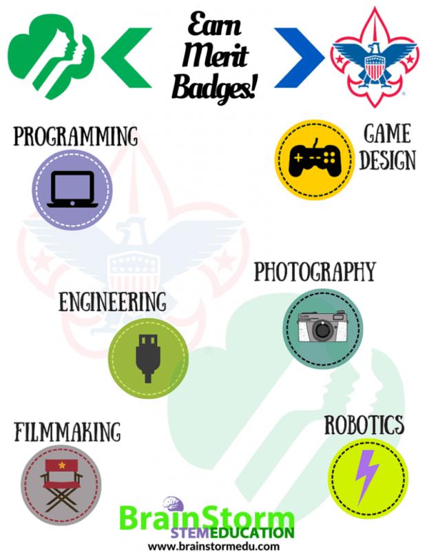 Earn Merit Badges!