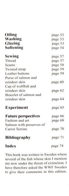 Table of Contents part 2