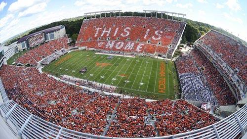 Lane Stadium Virginia Tech.