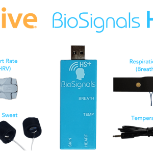 BioSignals HS Plus Biofeedback Sensor for Alive Software