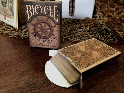 Captains Deck themed Bicycle® Deck