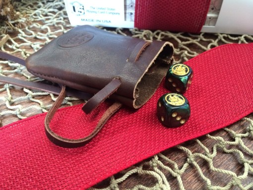 Dice & Coin Pouch