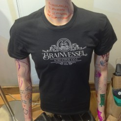 Brain Vessel Branded T-shirt