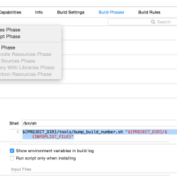 Xcode 6 Auto-Increment Build Number Script