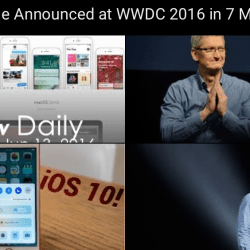 wwdc keynote summary video