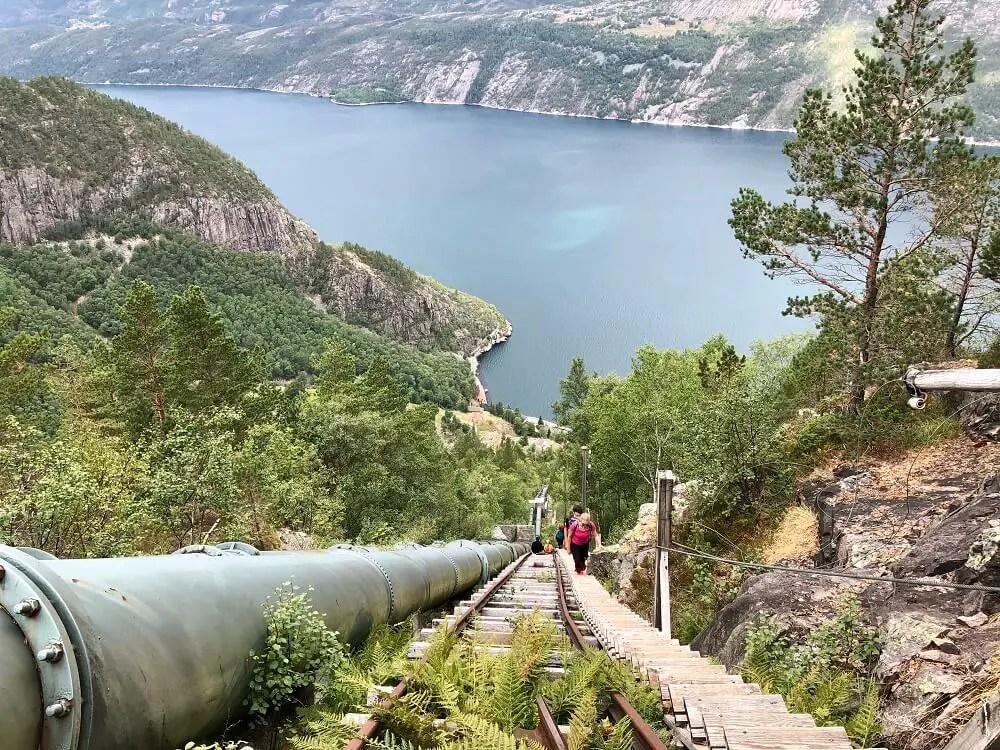 Trekking in Norway - Florli 4444 trail