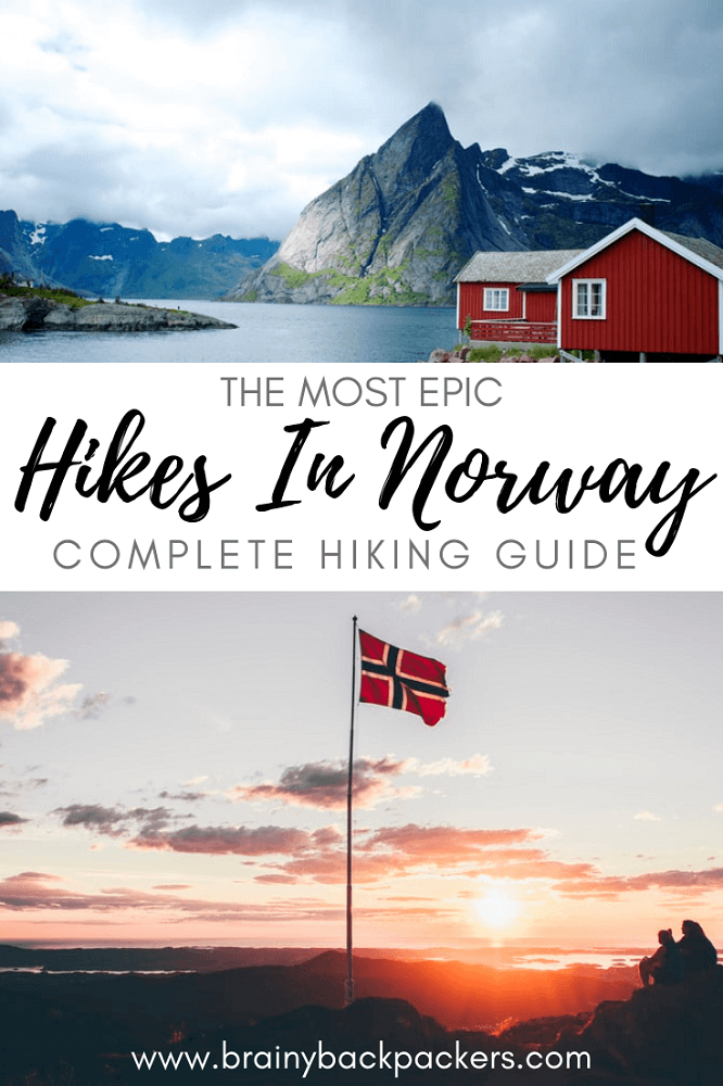 Are you planning a hiking holiday to Norway? This is a complete guide to hiking safety and responsible hiking advise showing traveler's favorite hikes in Norway.