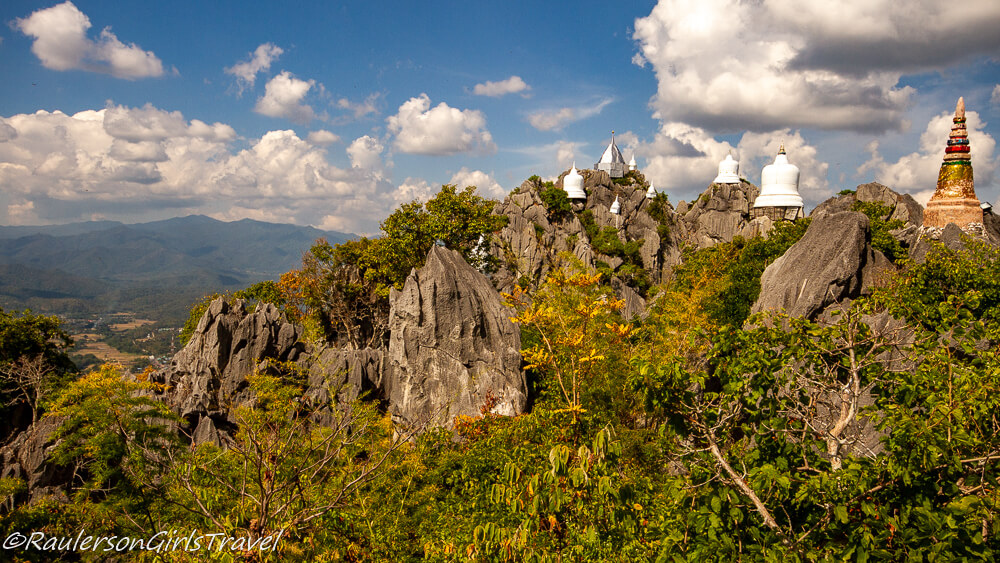 Unseen Cliff Temples of Lampang is off the beaten path in Thailand