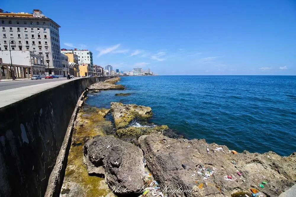 El Malecon in Havana