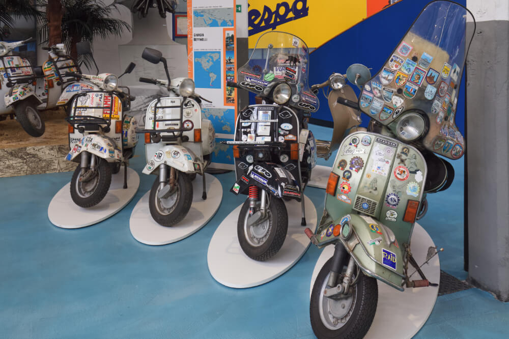 Pontedera is one of the best towns in Tuscany and also the home of the Vespa
