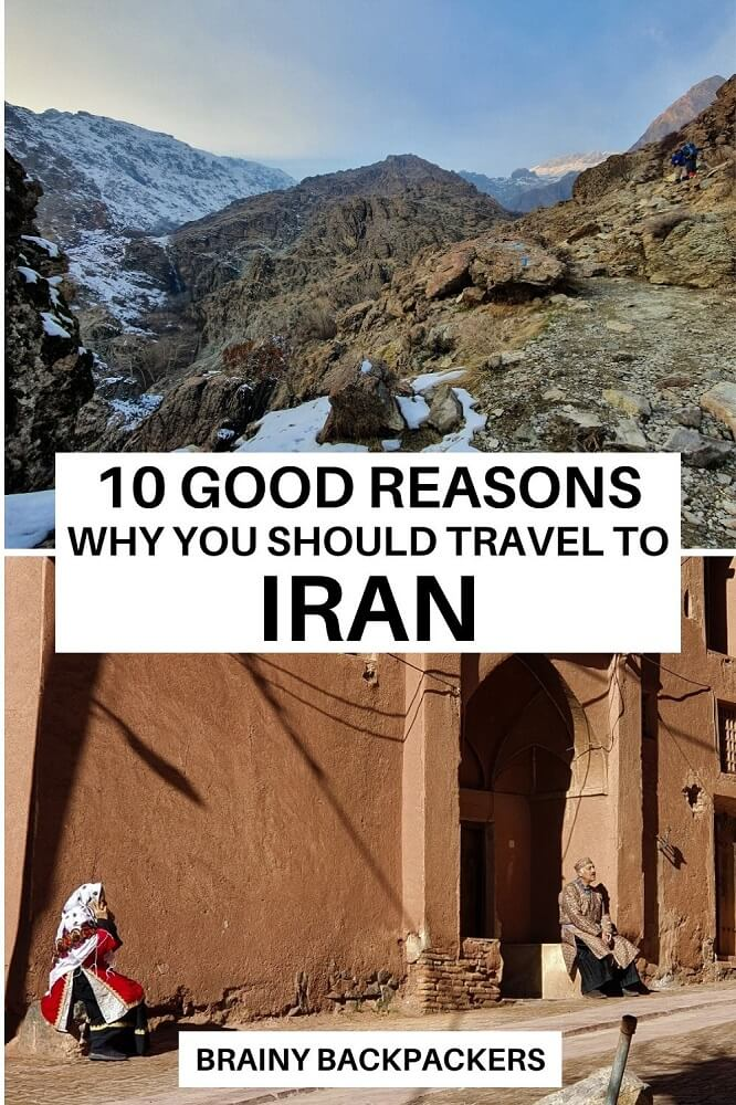 Are you wondering if Iran is the travel destination for you? Here are 10 reasons why I loved to travel to Iran and why it should be on your bucket list too. #irantravel #middleeast #asia #westernasia #traveltips #destinations #responsibletravel #responsibletourism #brainybackpackers #sustainabletourism