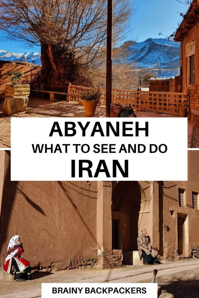 Do you want to experience Iran's ancient culture? Abyaneh is one of the few villages where the traditional language, clothing, and customs have been preserved among the locals. It is a great place to visit, but make sure you do it responsibly. #responsibletourism #traveliran #middleeast #asia #westernasia #brainybackpackers #sustainabletravel #culture #offbeatdestinations #responsibletravel