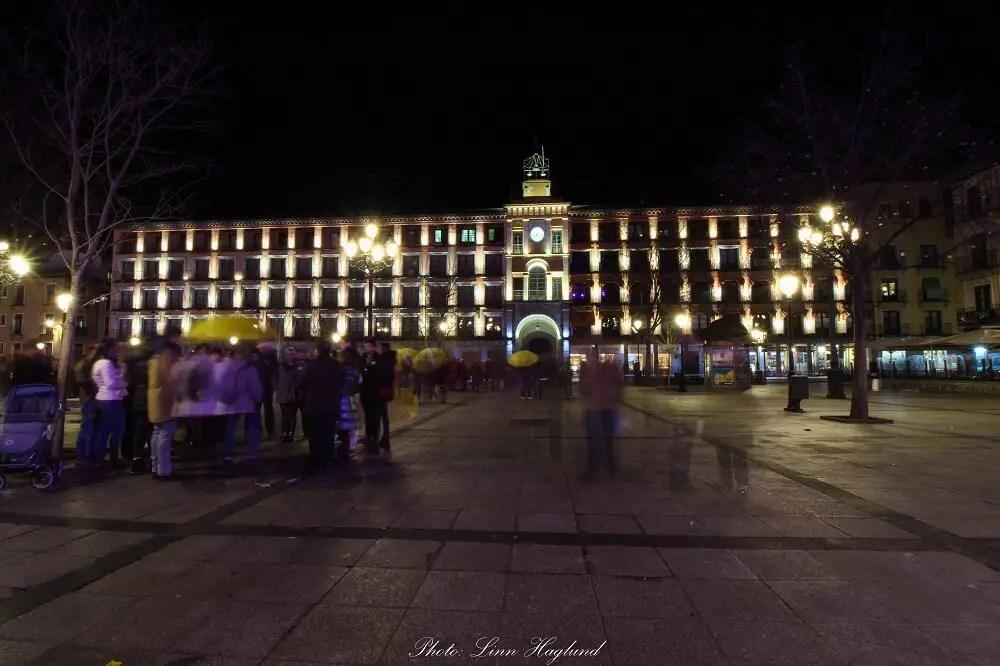 Plaza Zocodover Toledo Spain