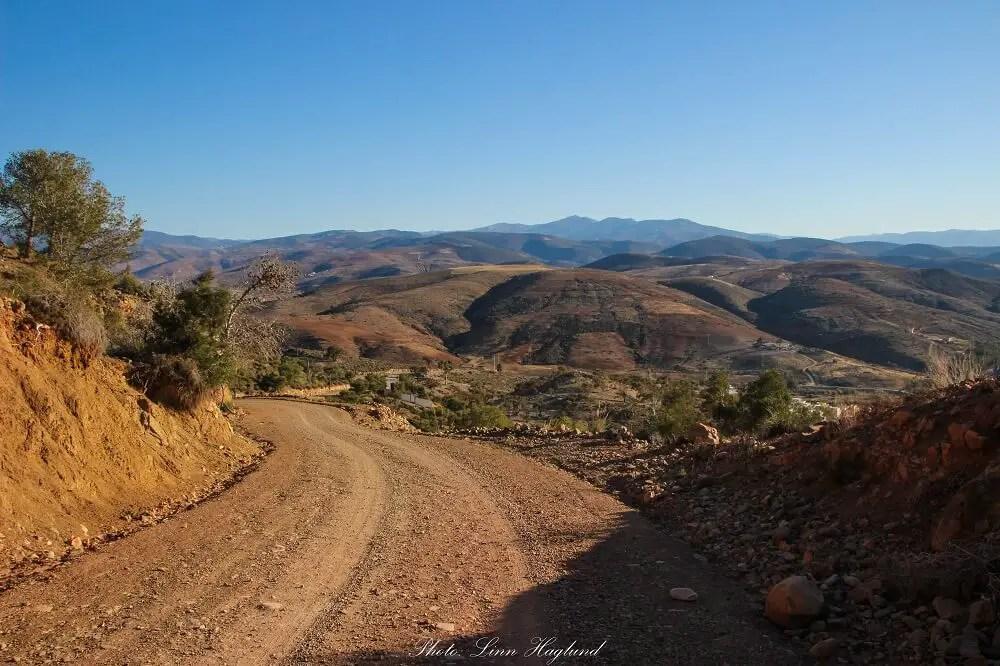 Al Hoceima National Park dirt road