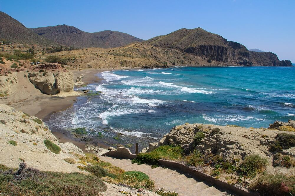 Cabo de Gata holds many secret places to visit in Spain