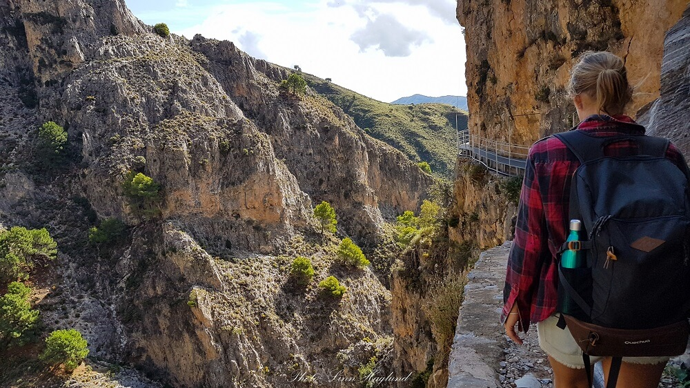 hiking off the beaten track in Spain