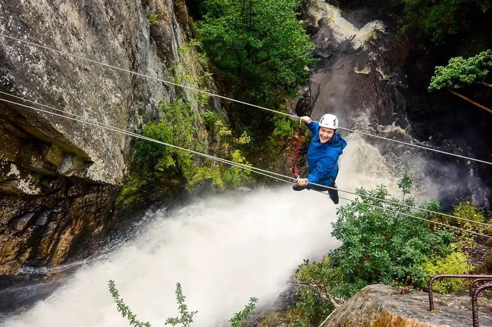 Via Ferrata in Kinlochleven - Credit, Vertical Descents 1