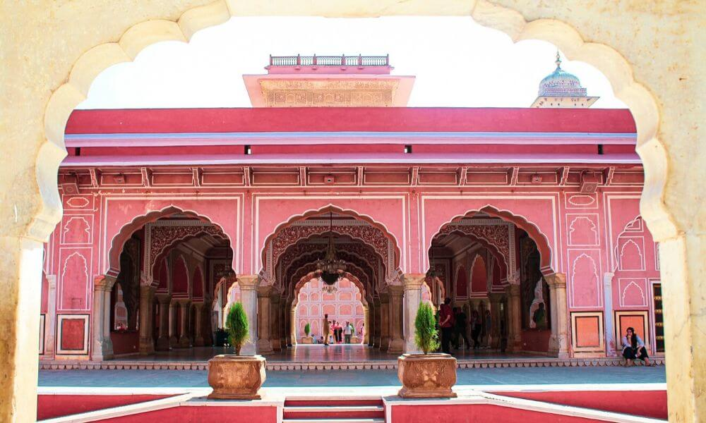 The City Palace in Jaipur is one of the most colorful places to see in Rajasthan