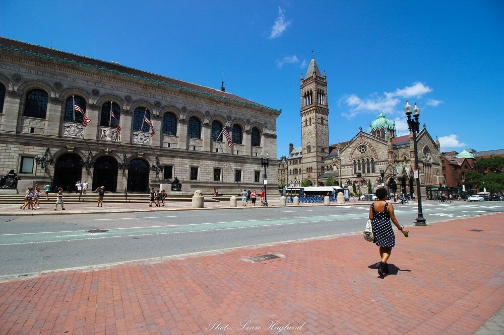 Visit the mesmerizing Boston Public Library at Copley Square is one of the best things to do in Boston in one day