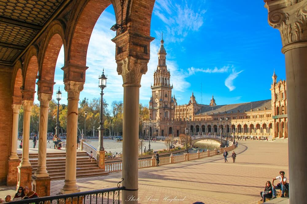 Plaza de España is a must on your Seville itinerary