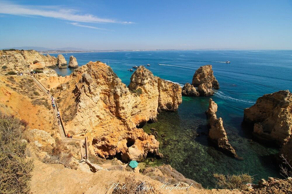 Ponta da Piedade needs to be on your Algarve road trip itinerary