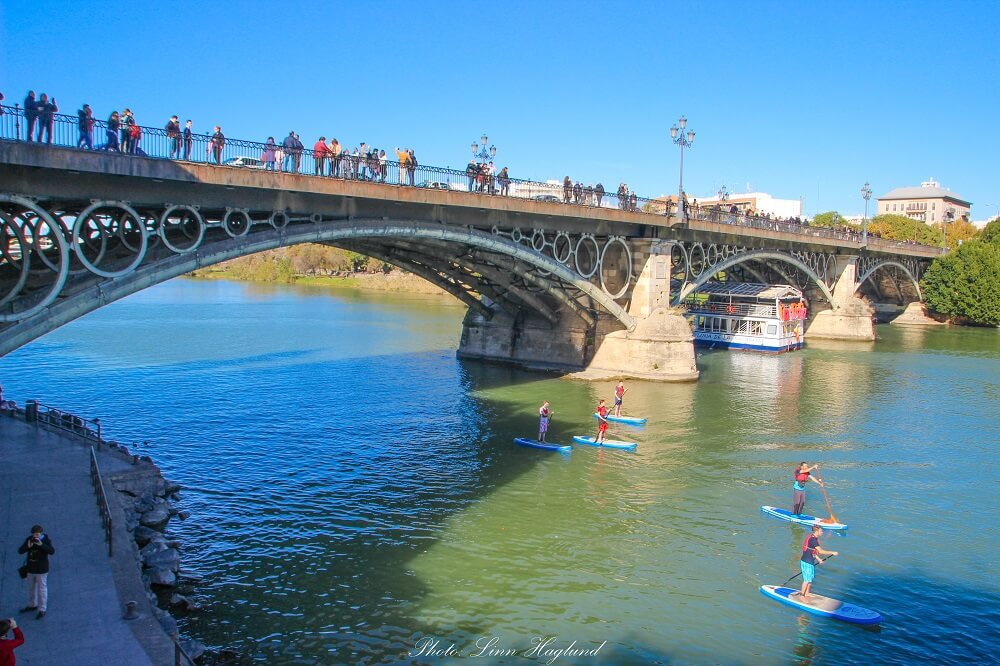 Go and see Puente de Triana on a Seville 3 days trip