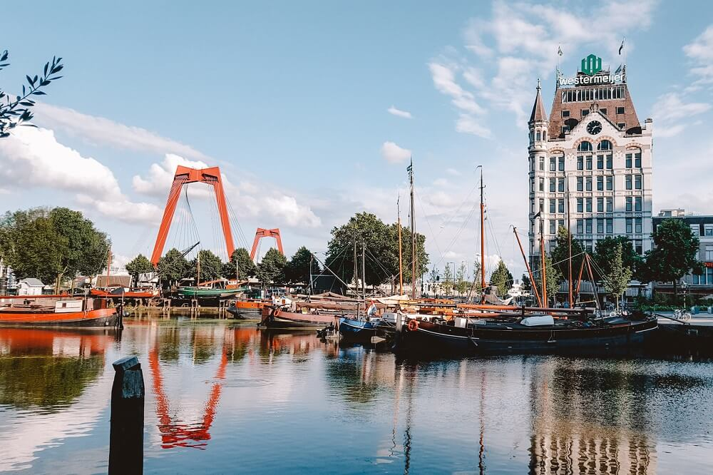 Rotterdam - Day trips from Paris by train