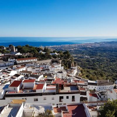 Things to see in Mijas are the amazing views from the mountains