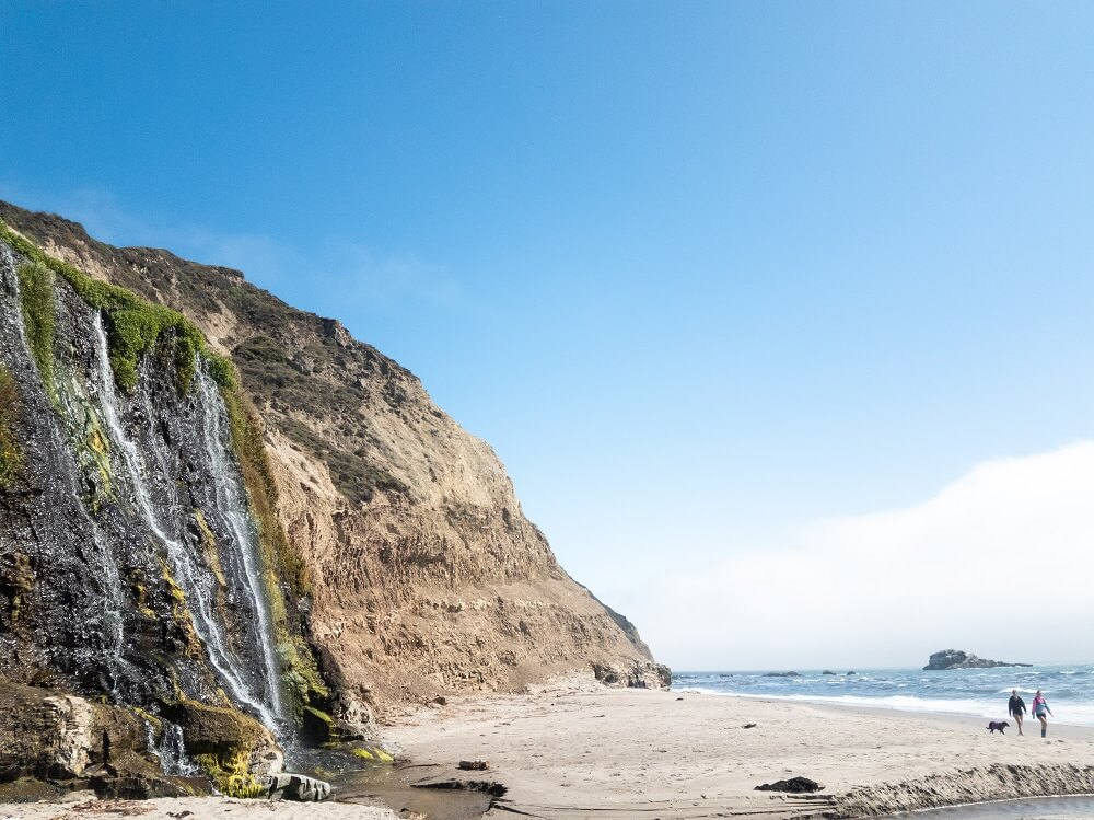 Alamere Falls Hike in northern California
