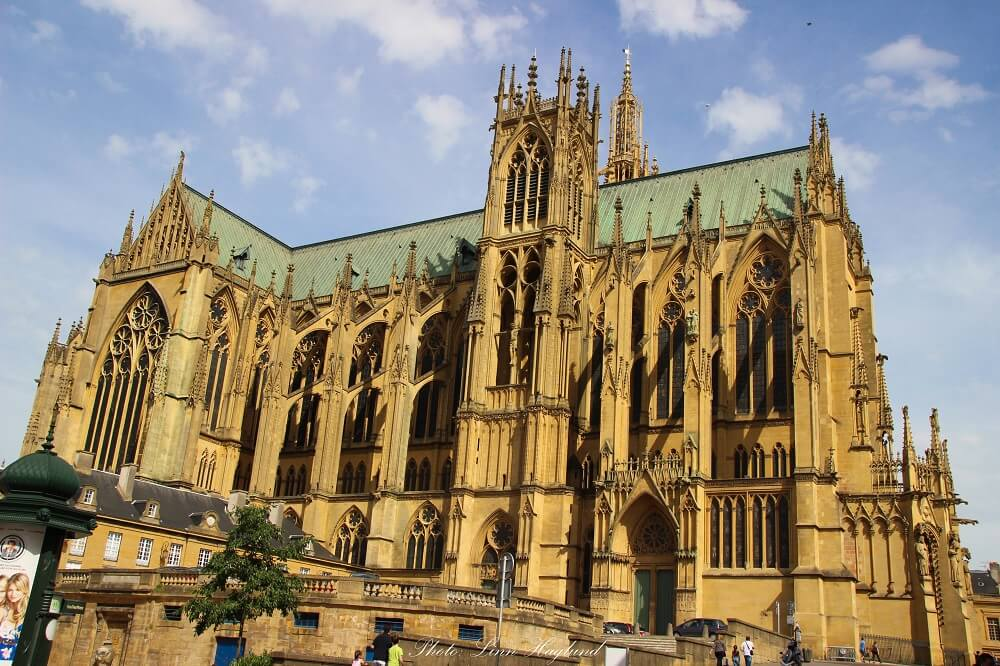 Metz cathedral is a great alternative for winter city breaks in Europe