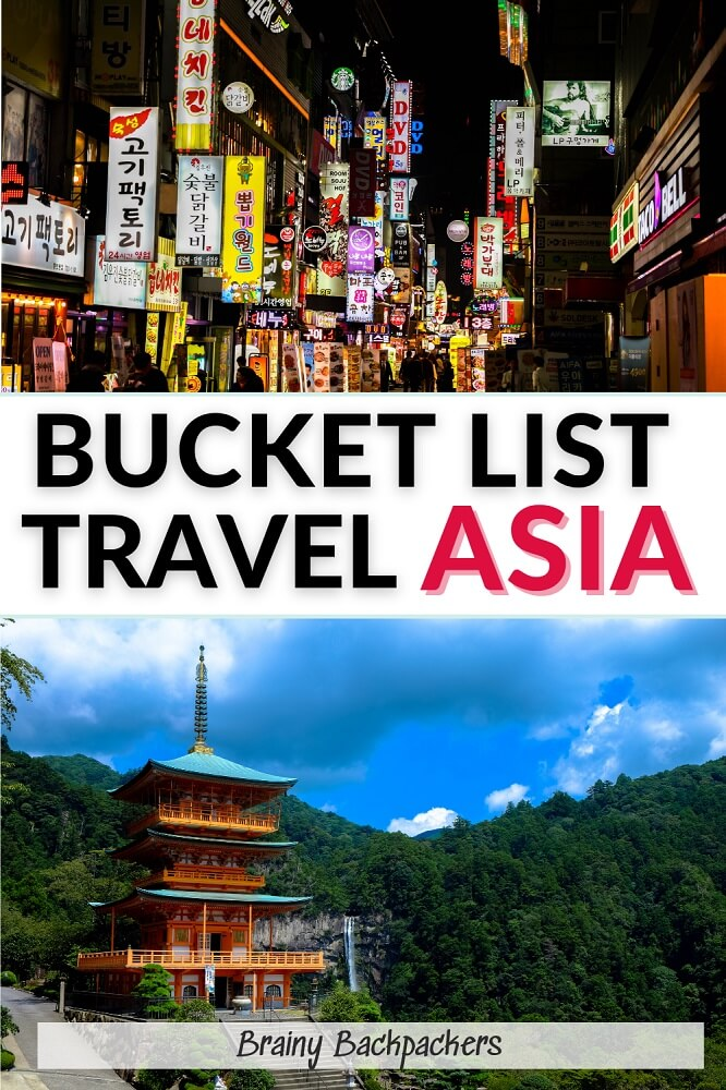Are you looking for places to see and things to do in Asia? I've got you covered with this ultimate Asia Bucket List with everything from bucket list hikes to bucket list places and unforgettable ethical bucket list experiences. #asiatravel #responsibletourism