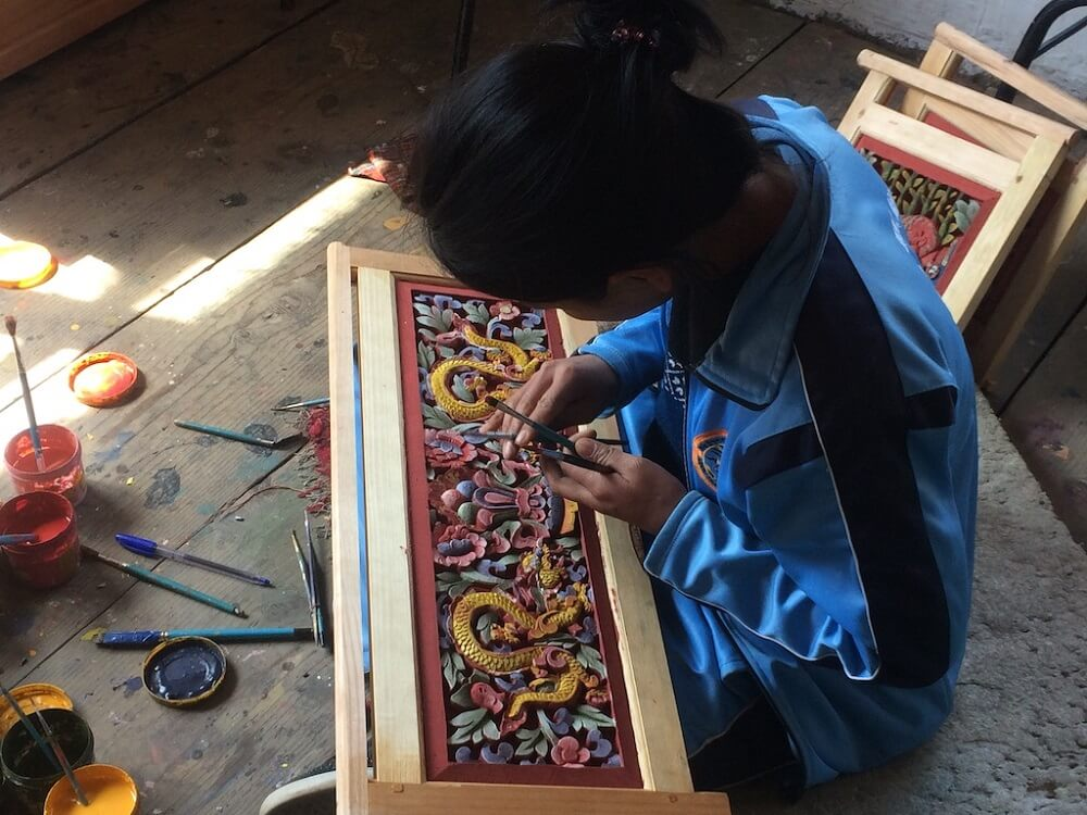 Choki Traditional Art School Bhutan