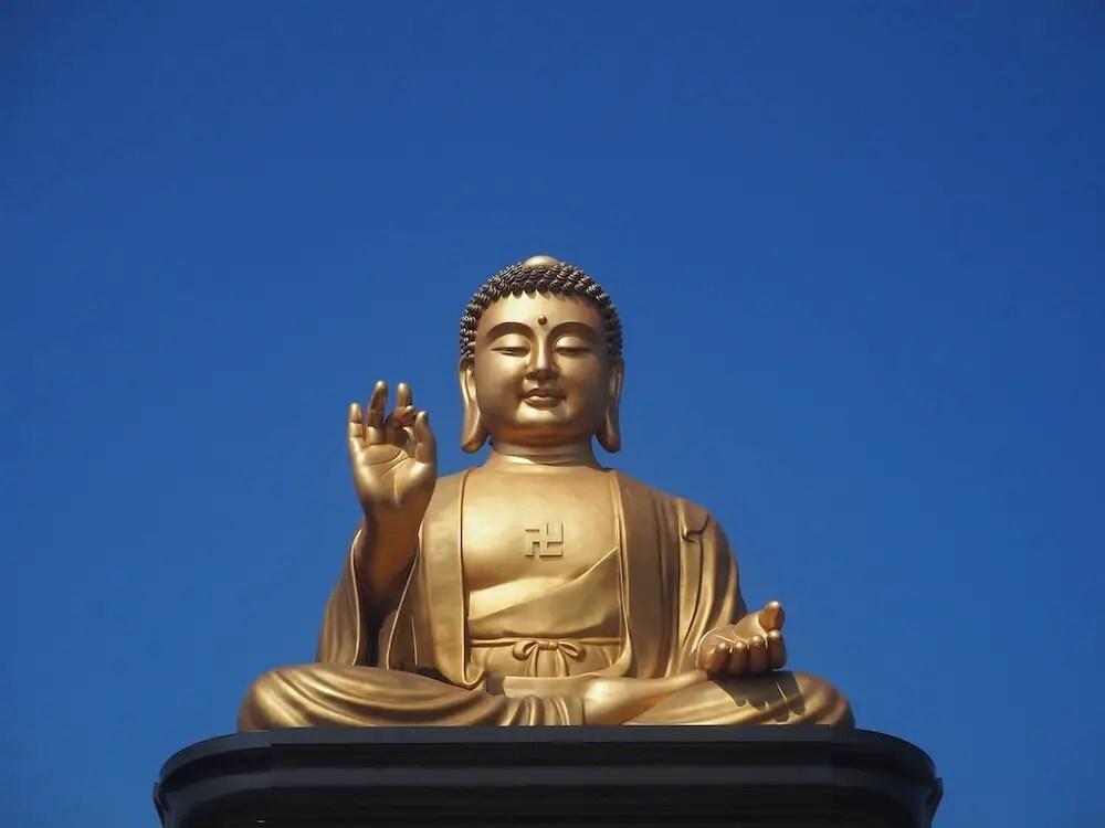 The Big Buddha at Fo Guan Shan Taiwan