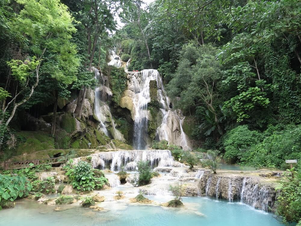 Kuang Si Falls is a must on any southeast Asia bucket list