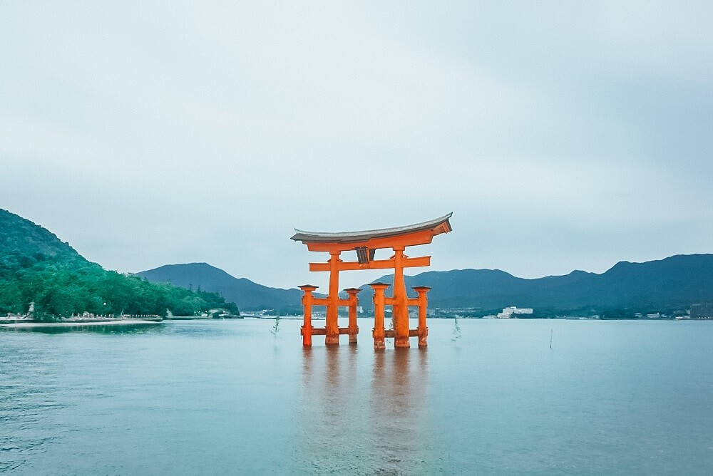 Torii gate Miyajima Island