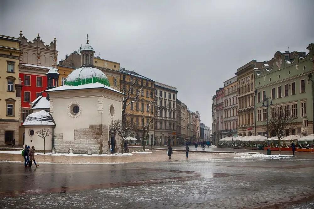 Church of St. Wojciech on Market Square