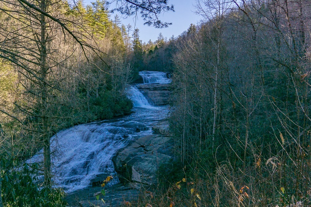 Triple Falls Dupont is one of the best hikes near Brevard