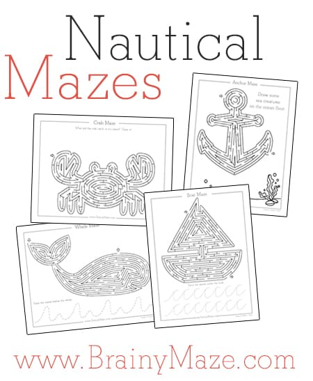 Ocean Mazes Free From Brainy Maze