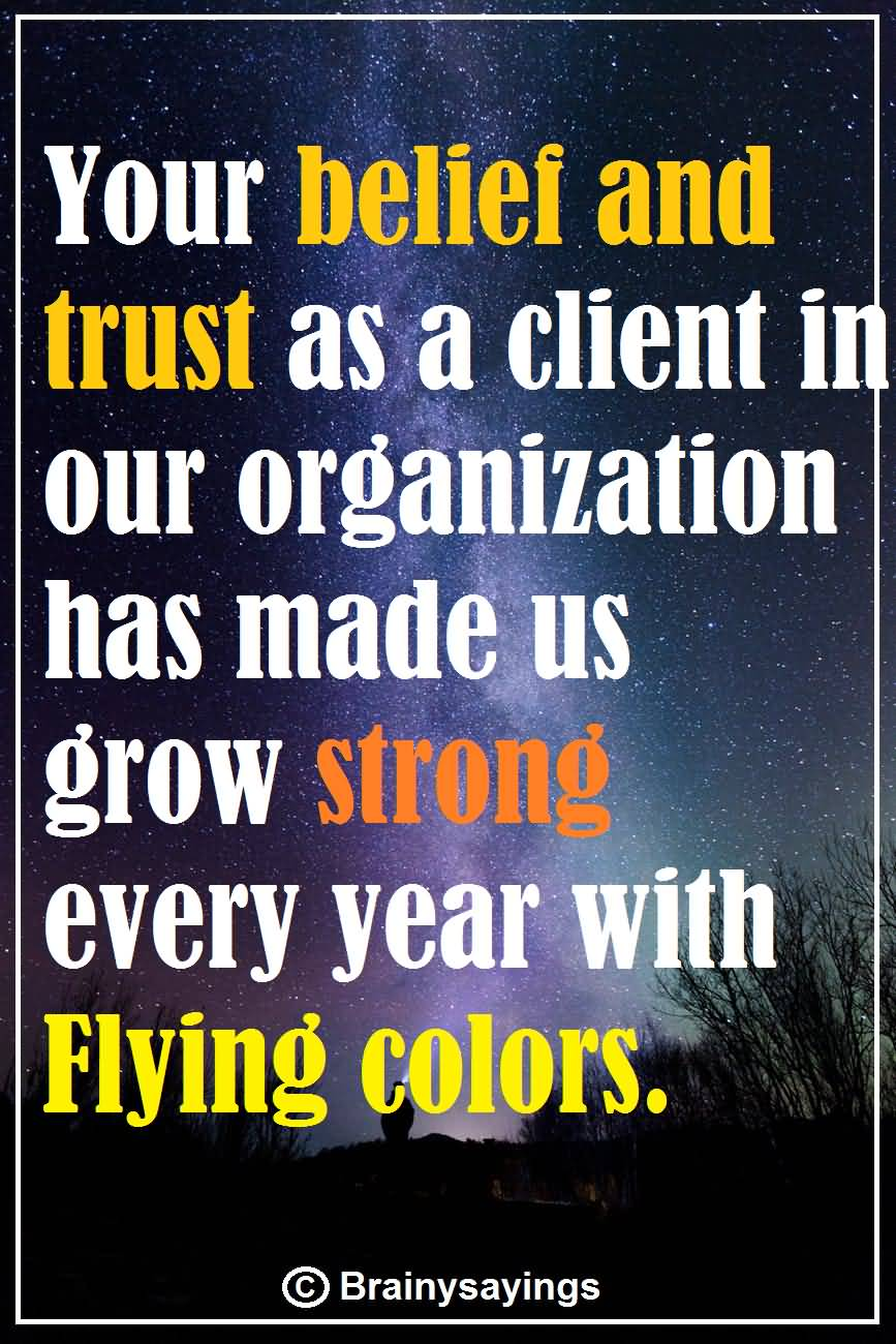 Thank You For Trusting Us : thank, trusting, Thank, Quotes, Appreciating, Others, Values