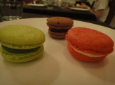 Green Tea Passionfruit, Chocolate and Rose Raspberry Macaroons