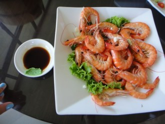 Shrimp With Soya Sauce
