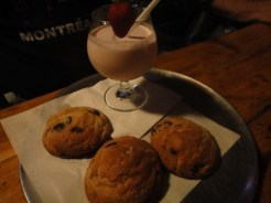 Tollhouse Cookies and Strawberry Milk