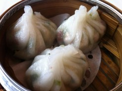 Peanut, Shrimp, Pork and Chinese Chives Dumpling