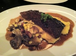 Beef Short Ribs, Polenta, Corn, Guanciale, Mushrooms