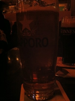 Sapporo on tap