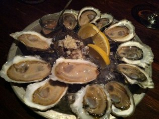 A Dozen Mixed Oysters: Colville Bay, Thatch Island, Summerside's and Chopper's Choice